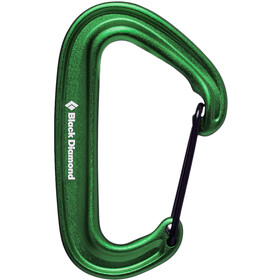 Black Diamond Miniwire Mosquetón, green